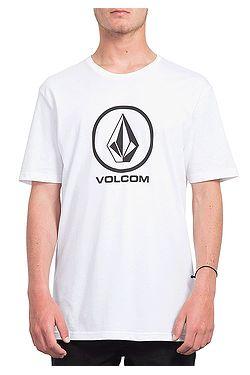 T-Shirt Volcom Crisp Stone Basic - White - men´s