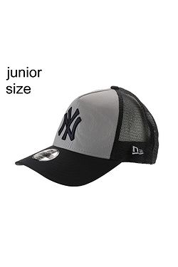 cap New Era 9FI Aframe Trucker MLB New York Yankees Youth - Gray/Navy - unisex junior