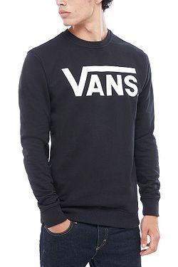 sweatshirt Vans Classic Crew II - Black/White - men´s