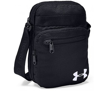 taška Under Armour Crossbody - 001/Black/Black/White
