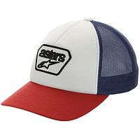 casquette Alpinestars Joe Trucker - White/Navy - men´s