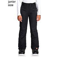 pants Roxy Backyard - KVJ0/True Black - girl´s