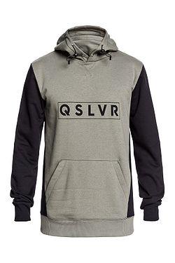 sweatshirt Quiksilver Big Logo Tech - GZC0/Agave Green - men´s