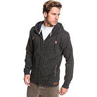 sweatshirt Quiksilver Keller Zip - KRPH/Dark Gray Heather - men´s