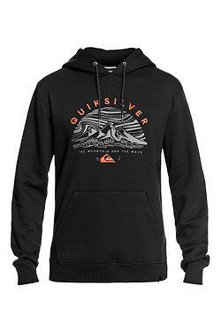 sweatshirt Quiksilver Big Logo Snow - KVJ0/Black - men´s