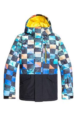 jacket Quiksilver Mission Block - GHD6/Sulphur Ongrid - boy´s