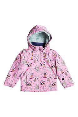 bunda Roxy Mini Jetty - MEQ1/Prism Pink Snow Trip