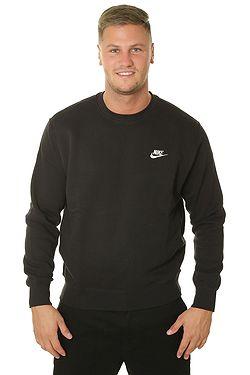 sweatshirt Nike Sportswear Club Crew BB - 010/Black/White - men´s