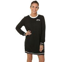Kleid Nike Sportswear Fleece Varsity - 010/Black - women´s