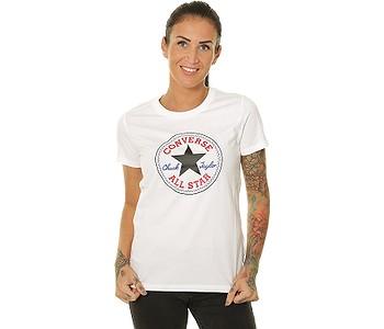 tričko Converse Chuck Patch Nova/10017759 - A04/White