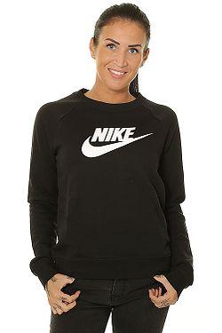 mikina Nike Sportswear Essential Crew Fleece HBR - 010/Black/White