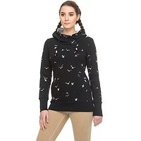 Sweatshirt Ragwear Gripy Birds - 1010/Black - women´s