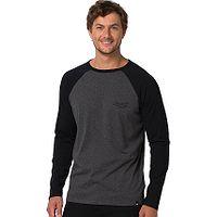 T-Shirt Animal Ocana LS - Dark Charcoal Marl - men´s