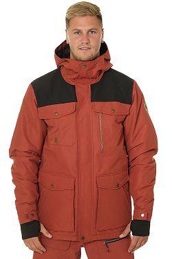 jacket Quiksilver Raft - RQJ0/Barn Red - men´s
