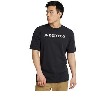 tričko Burton Horizontal Mountain - True Black