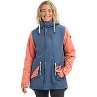 jacket Burton Insulated Sadie - Light Denim/Crabpple - women´s