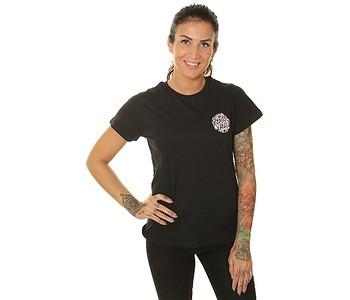 tričko Santa Cruz Cali Poppy - Black