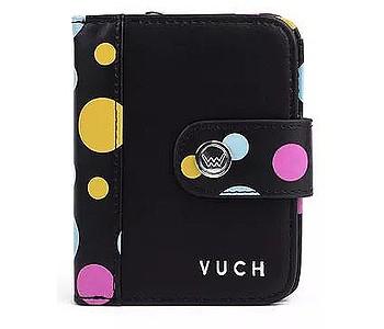 peněženka Vuch Leli Leonny - Black/Multicolor Dots