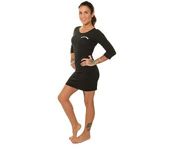 šaty Santa Cruz Horizon - Black