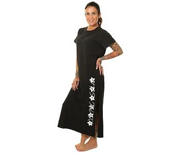 šaty Santa Cruz Japanese Blossom - Black