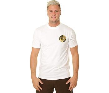 tričko Santa Cruz Crash Dot - White