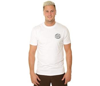 tričko Santa Cruz Bone Wave - White