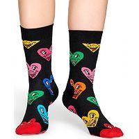 ponožky Happy Socks Keith Haring Heart - KEH01-9300