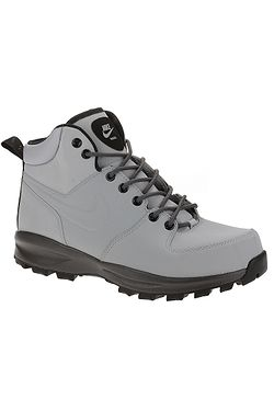 shoes Nike Manoa Leather - Wolf Gray/Thunder Gray/Black - men´s