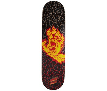 skateboard Santa Cruz Flame Hand - Hard Rock Maple