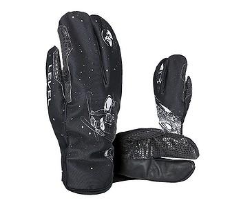 rukavice Level Pro Rider Lobster - PK Black