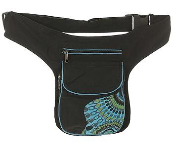 ledvinka Sittar Japa - Black/Turquoise