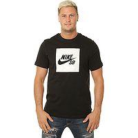 T-shirt Nike SB Logo Nomad - 010/Black