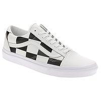 topánky Vans Old Skool - Leather Check/True White/Black