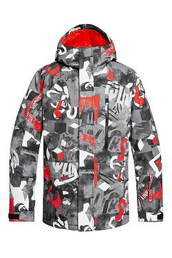 jacket Quiksilver Mission Printed - NZG6/Poinciana Giantforce - men´s