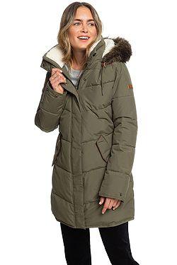 kabát Roxy Ellie - CRB0/Ivy Green