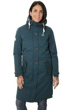 kabát Brakeburn Long Insulated - Teal
