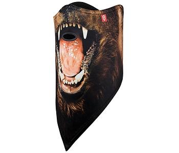 maska Airhole Facemask 2 Layer - Bear
