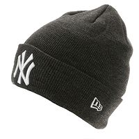 čiapka  New Era Heather Essential MLB New York Yankees - Graphite/Official Team Color