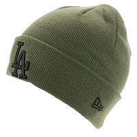 cap New Era League Essential Cuff MLB Los Angeles Dodgers - New Olive - men´s
