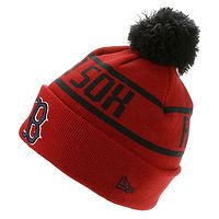 chapeau New Era Bobble MLB Boston Red Sox - Official Team Colour - men´s