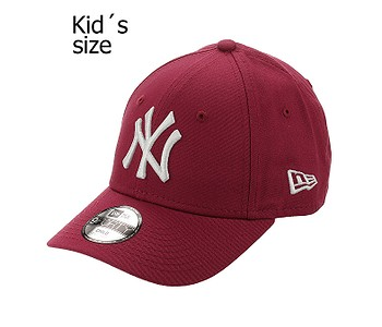 kšiltovka New Era 9FO League Esstential MLB New York Yankees Child - Carmine/White