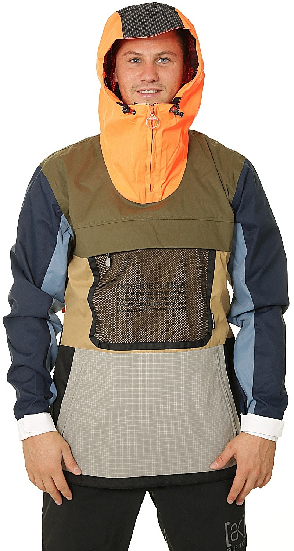 jacket DC Asap Anorak SE XNGBMulti Repurpose B Solid