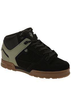 boty DVS Militia Boot - Black/Olive/Nubuck