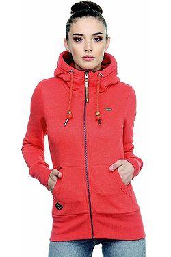 mikina Ragwear Neska Zip - 4000/Red