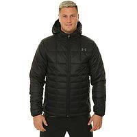 jacket Under Armour Insulated Hooded - 001/Black - men´s