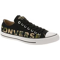 topánky  Converse Chuck Taylor All Star Canvas Wordmark OX - 166234/Black/Multi/White