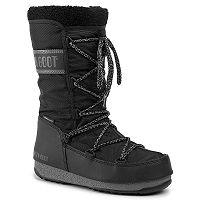 Schuhe Tecnica Moon Boot Monaco Wool WP - Black - women´s