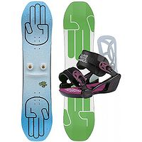 snowboard Bataleon Minishred Set - No Color - unisex junior