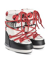 boty Tecnica Moon Boot Ladybug - Black/White/Red