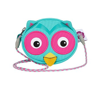 taška Affenzahn Olivia Owl - Turquoise
